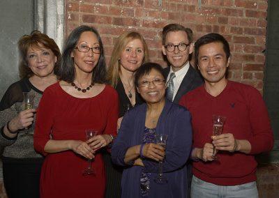 April 2014 reception - JCE board members, Baayork Lee, Steven Eng
