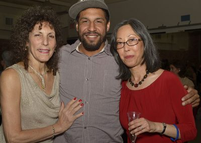 April 2014 reception - Sue Samuels, Jason Samuels Smith, Marian Hyun