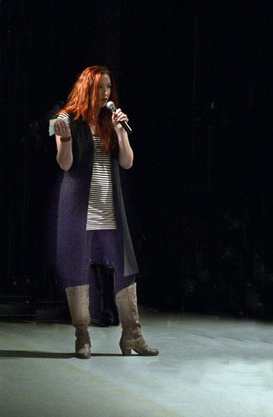 Eileen Kielty at the 2018 JCE October talkbalk
