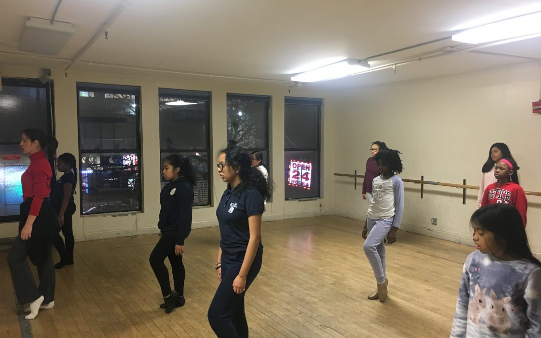 JCE Hosts Three Classes at Groove With Me in East Harlem