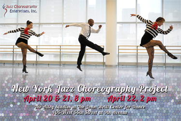 April 2012 New York Jazz Choreography Project