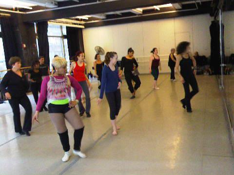 Workshop with Sue Samuels