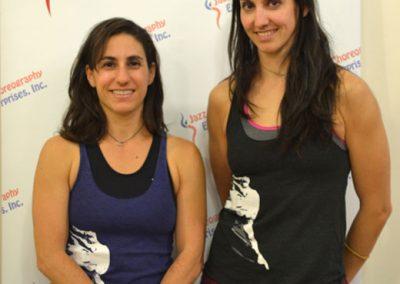Ashley Carter and Vanessa Martínez de Baños