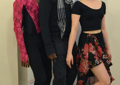 Choreographer Sekou McMiller and Dancers Hope Parker and Imani Williams